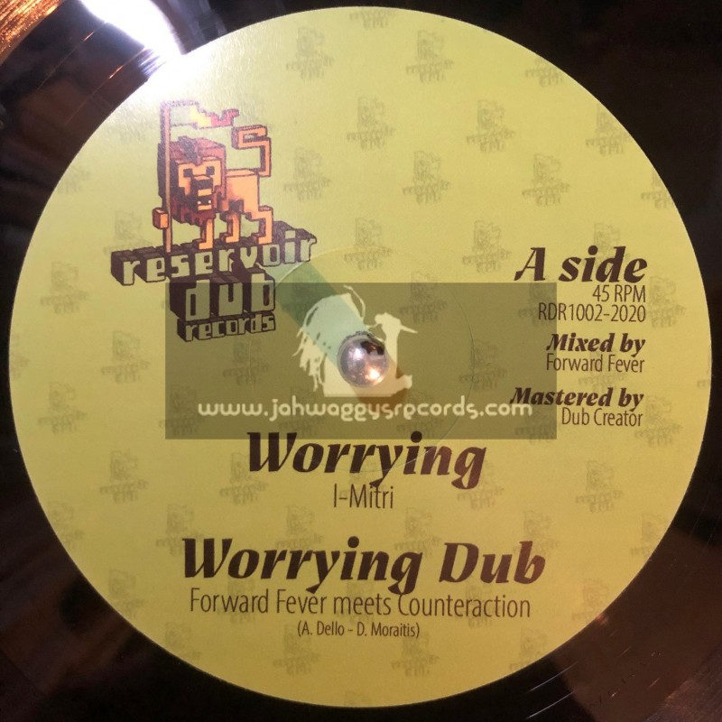 """Reservoir Dub Records-10""""-Worrying / Forward Fever meets Counteraction + Lose Control / Metta Frequencies"""