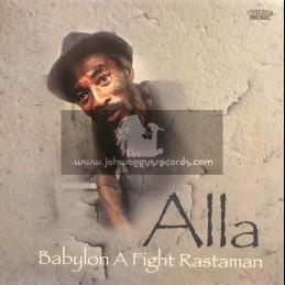 Twinkle-LP-Babylon A Fight Rastaman / Alla