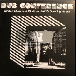 Studio 16-Lp-Dub Conference / Winston Edwards & Blackbeard At 10 Downing Street