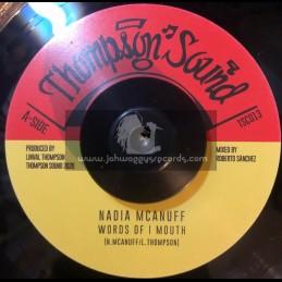 "Thompson Sound-7""-Words Of I Mouth / Nadia Harris Mcanuff"