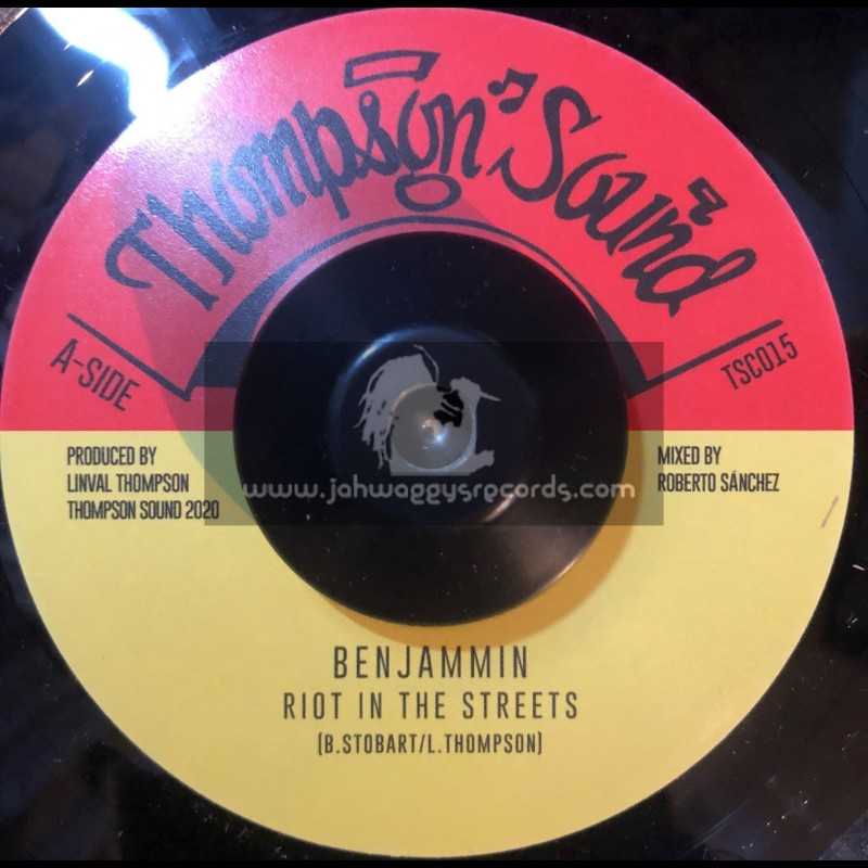 """Thompson Sound-7""""-Riot In The Streets / Benjammin"""