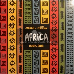 "Berry's Records-12""-Africa / Roots Raid, Cookah & Likkle Ferguson + About Life / Roots Raid, Cookah & Likkle Ferguson"