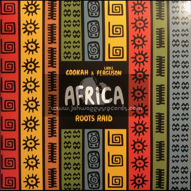 """Berry's Records-12""""-Africa / Roots Raid, Cookah & Likkle Ferguson + About Life / Roots Raid, Cookah & Likkle Ferguson"""