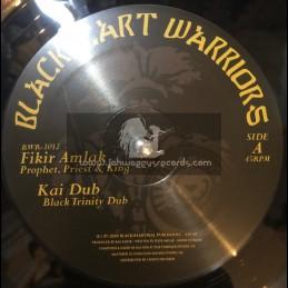 "Blackheart Warriors Records-10""-Prophet, Priest & King / Fikir Amlak Meets Kai Dub + Mau Mau / Fikir Amlak Meets Kai Dub"