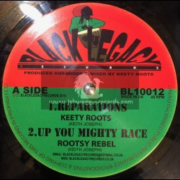 "Black Legacy Records-10""-Reparations / Keety Roots"