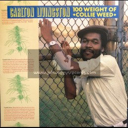Greensleeves-LP-100 Weight Of Collie Weed / Carlton Livingston