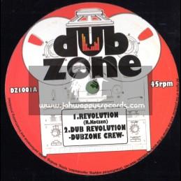 "Dub Zone-10""-Revolution/Dub Zone Crew + Sun Light / Cristine Miller & King General"