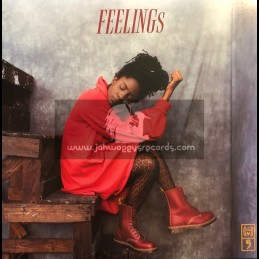 VP Records-Lp-Feelings / Jah9