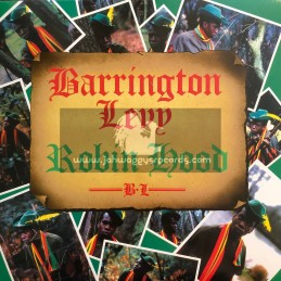 Greensleeves Records-Lp-Robin Hood / Barrington Levy