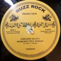 "Buzz Rock Production-12""-Disrespectful Woman / Gregory Isaacs + Pull Over / John Daygo"