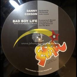 "Gem Star-12""-Bad Boy Life / Danny Coxson + Mass Out / Danny Coxson"