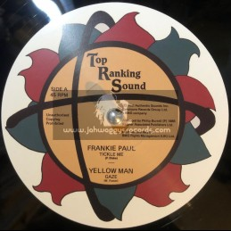 "Top Ranking Sound-12""-Tickle Me / Frankie Paul + Gaze / Yellowman"