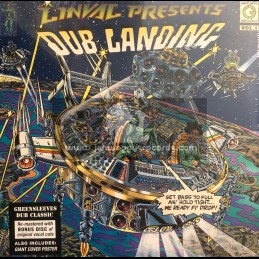 Greensleeves Records -Double-Lp-Linval Presents Dub Landing Vol 1 / Various Artist