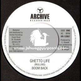 "Archive Recordings-7""-Ghetto Life / Boom Back"