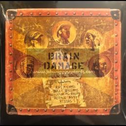 Jarring Effects-Lp-Walk The Walk / Brain Damage Feat. Ras Michael, Willi Williams, Winston Mcanuff, Horace Andy & Kiddus I