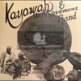 Only Roots Records-Lp-Culture Rock - Roots Reggae / Kayawah And The Movement Band