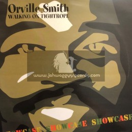 Riz Records-Lp-Walking On Tightrope / Orville Smith - 1996 Original Press