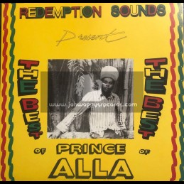Iroko Records-Lp-Redemtion Sounds Present The Best Of Prince Alla