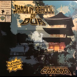 Reggae On Top-Lp-Shaolin School Of Dub / The Dub Master Chazbo