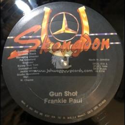 """Skengdon-12""""-Gun Shot / Frankie Paul"""
