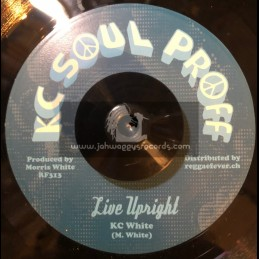 """KC Soul Proff-7""""-Live Upright / KC White"""