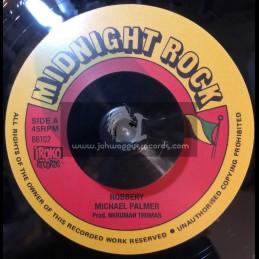 "Midnight Rock-7""-Robbery / Michael Palmer"