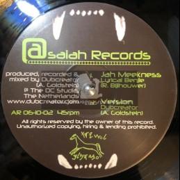 "Asiah Records-10""-Jah Meekness / Lyrical Benjie + Whos Gonna Help / Lyrical Benjie"