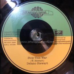 "Roots International-Iroko Records-7""-Stop The War / Delano Stewart"