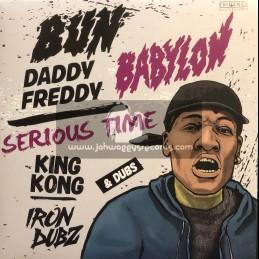"Evidence Music-12""-Serious Time / King Kong + Bun Babylon / Daddy Freddy"