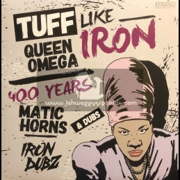 """Evidence Music-12""""-Tuff Like Iron / Queen Omega + 400 Years / Matic Horns"""