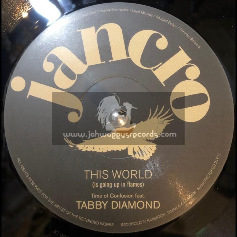 """Jancro-7""""-This World / Tabby Diamond"""