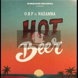 "Dubquake Records-7""-Hot Beer / Nazamba + Hot Riddim / OBF"