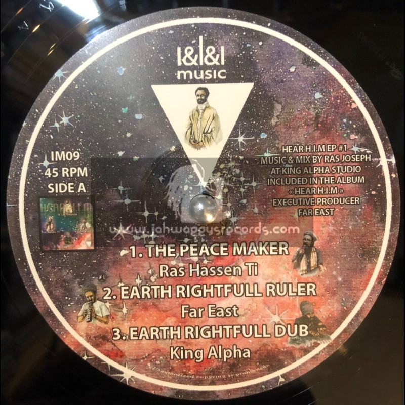 "I&I&I Music-12""-The Peace Maker / Ras Hassen Ti meets King Alpha"
