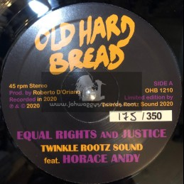 "Old Hard Bread-12""-Equal Rights And Justice / Twinkle Rootz Sound feat. Horace Andy"