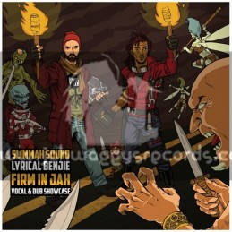 Roots Tribe-LP-Firm In Jah / Lyrical Benjie Meets Slimmah Sound-Vocal & Dubwise Showcase