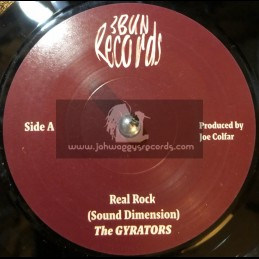 "3 Bun Records-7""-Real Rock / The Gyrators + Love Land / The Gyrators"