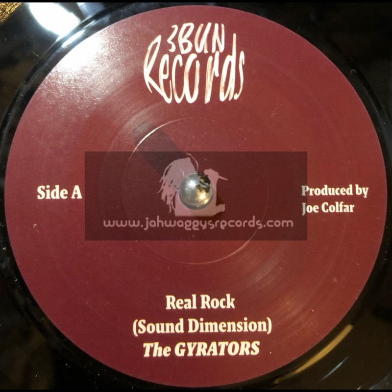 "3 Bun Records-7""-Real Rock / The Gyrators + Love Land / The Gyrators"