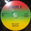 "Zion I Records-12""-Tell I A Lie / Hugh Mundell + Jah Music / Hugh Mundell"