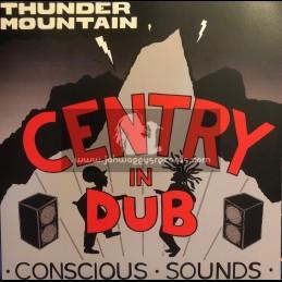 Partial Records-Lp-Thunder Mountain / Centry In Dub - Conscious Sounds
