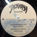 "Jackhaya Records-12""-The Rootsman Style / Ras Hassen Ti + The Rootsman Melodica / Far East"