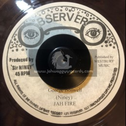 "Observer-7""-Jah Fire / George Boswell"