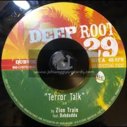 "DEEP ROOT-7""-TERROR TALK / DUBDADDA + ZION TRAIN"