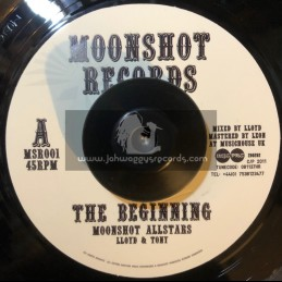"Moonshot Records-7""-The Begining / Moonshot Allstars"