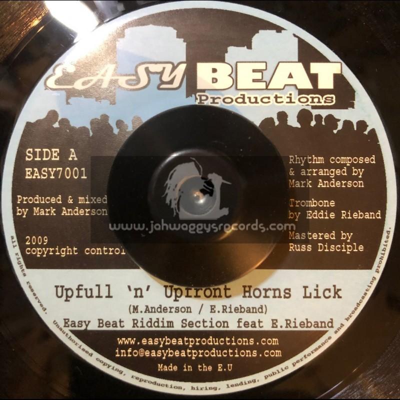 "Easy Beat Productions-7""-Upfull n Upfront Horns Lick / Easy Beat"