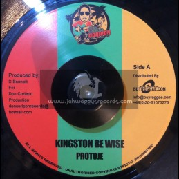 "Corleon Records-7""-Kingston Be Wise / Protoje"