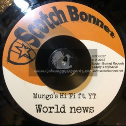 "Scotch Bonnet-7""-World News / YT + Wicked Tings A Gwaan / Daddy Scotty"