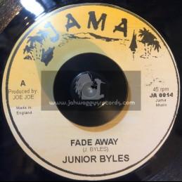 """Jama-7""""-Fade Away / Junior Byles"""