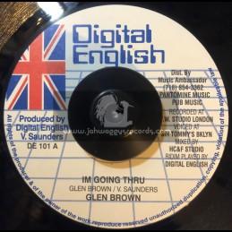 "Digital English-7""-Im Going Thru / Glen Brown"