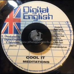 "Digital English-7""-Cool It / Meditations"