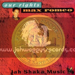 Jah Shaka Music-LP-Our Rights / Max Romeo